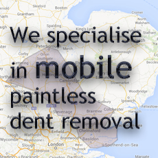Dynamic Dent Repairs specialise in mobile paintless dent removal